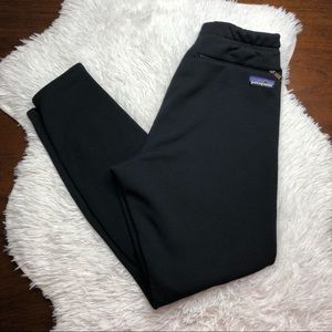 Patagonia Fleece Lined Black Sweatpants